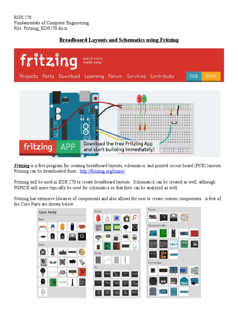 Fritzing EGR270 | Integrated Circuit | Resistor
