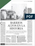 Barrios Altos en la Historia