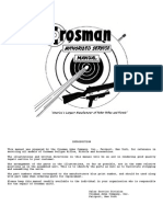 Crosman Service Manual 1960s Book