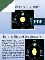Seasons and Sunlight