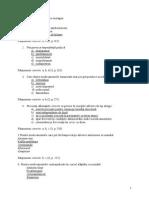 Grile Farmacologie Clinica