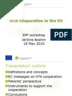 Presentation Hta Cooperation in the Eu Jerome Boehm
