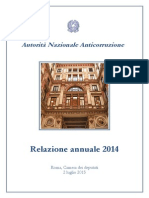 Relazione Annuale Autorita Anticorruzione
