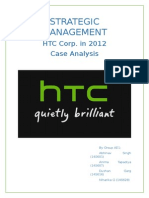 Case analysis of HTC