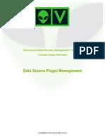 AlienVault Data Source Plugin Management