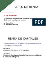Concepto de Rentad