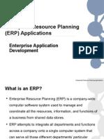 EAD Lecture - Enterprise Resource Planning Applications