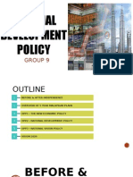 National Development Policy in Economic