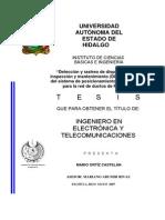 Detección y Rastreo de Dispositivos de Inspección y Mantenimiento (DIM) Por Medio Del Sistema de Posicionamiento Global (GPS) Por La Red de Ductos de PEMEX