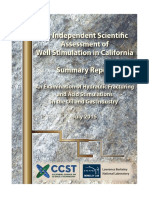 An Independent Scientific Assessment of Well Stimulation in California