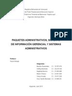 Informe Paquete Administrativo-315