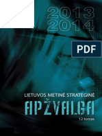 Lietuvos Metine Strategine Apzvalga - 2013-2014 - t 12