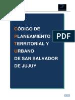 Codigo Planeamiento Territorial San Salvador Jujuy