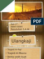 Bab 27 Isteri-Isteri Rasulullah