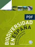 Biodiversidad en España. Base de La Sostenibilidad Ante El Cambio Global