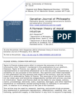 Kauppinen-A Humean Theory of Moral Intuition