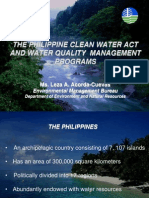 5 Phil Clean Water Act Ppt Leza Acorda