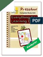 Preschool Drill Sheets