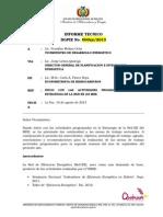 Informe Tecnico Talleres Sectoriales 2013-2