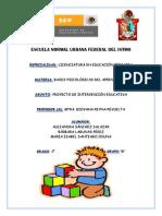 Proyecto de Aprendizaje