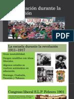 La Educación Durante La Revolución
