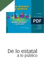 De Lo Estatal a Lo Publico_Alfaro