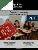 Cahier Programme Tj