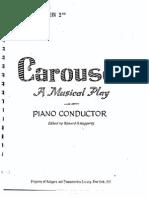 Carousel Complete Vocal Score