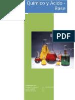 Equilibrio Quimica y Acido Base