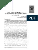 Blocs i wikis per a l'aula - Antoni de la Torre - La Rella (2008)
