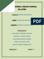Prueba Diagnostica Planeacion