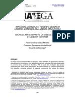 IMPACTOS MICROCLIMÁTICOS DO DESENHO URBANO