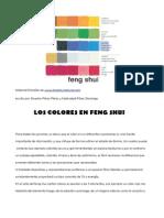 Los Colores en Feng Shui