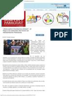 """""""Jesús Quiere Levantarnos Siempre"""", El Papa a Los Detenidos Del Centro de Rehab"""