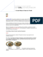 Alimentos Cereal Fitness Fruits Nestle Radiografia 2oct12 25586