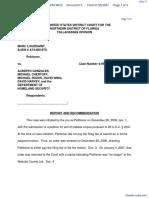 LOUISSAINT v. GONZALES et al - Document No. 5