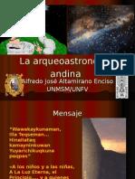 La Arqueoastronomía Andina