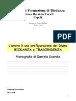 Biodanza e Trascenza