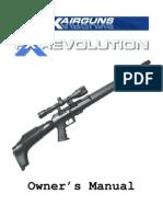 Manual FXRevolution