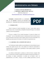 Ruben Dapkevicius - La Reeleccion Presidencial en Uruguay