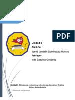 Reporte Unidad 2 Ingeniera economica