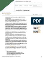 3.1 Migrando Uma Aplicação Para o Azure - Introdução _ Channel 9