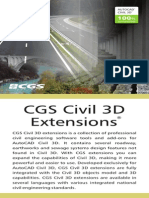 CGS Civil 3D Extensions 2008 ANG