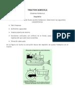 TRACTOR AGRICOLA+sistema hidráulico