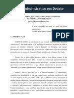 Diogo de Figueiredo - Os Resultados Como Paradigma Do Direito Administrativo