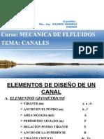 Dseño de Canales -Formulas Basicas