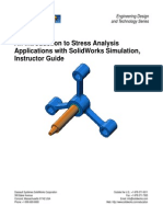 Simulation Instructor solidworks