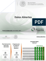 Dgtic en Digita2014 05 Datos Abiertos 281014 v01