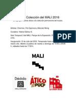 VALERIA_Nueva Colección Del MALI 2016