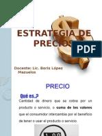 Unidad 10 Estrategia de Precios